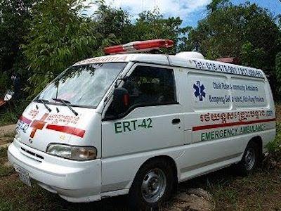 カンボジアの救急車はなぜ来ない?