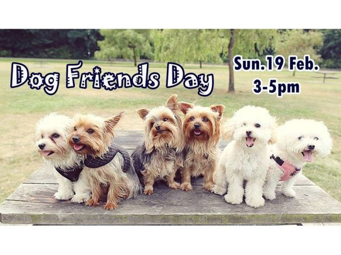 "【Ripple CAFE】2/19日開催!SHIRO""s Dog Friends Day"