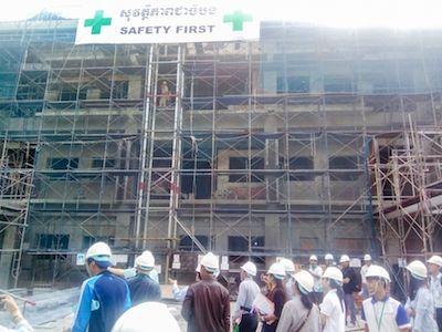 日本からの支援でスヴァイリエン州病院改善計画進む