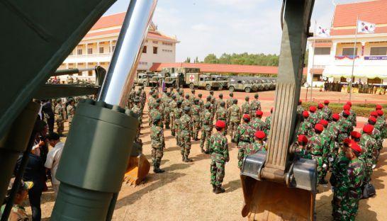 カンボジア防衛省、韓国から軍需品を受託