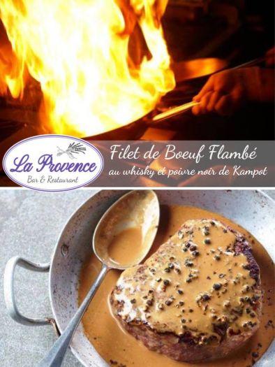 フレンチレストラン「La Provence」今週限定メニュー!