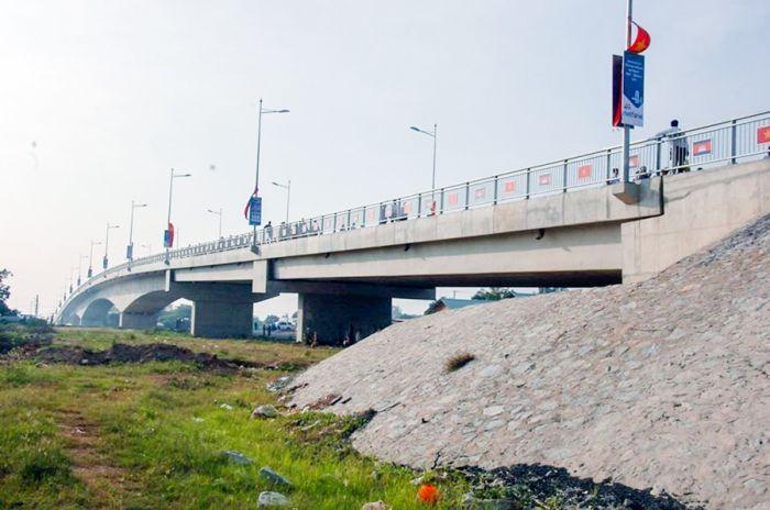 ベトナムとカンボジアをつなぐ橋が完成 二国間の貿易関係の強化へ