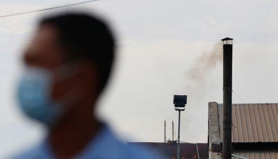 大気汚染分析モニター設置へ