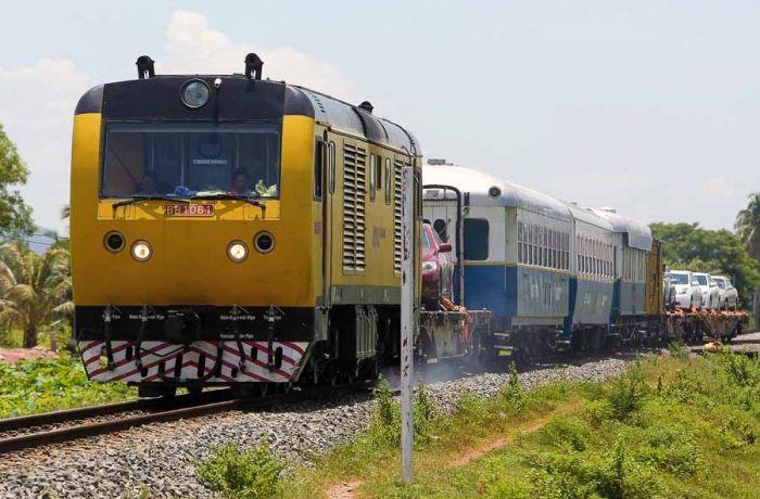 カンボジア、タイ間の鉄道が立ち退き問題により運行延期に