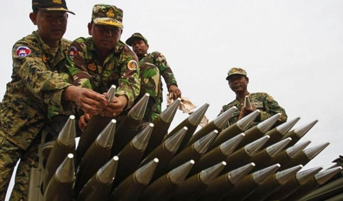 ラオスーカンボジア間の国境で高まる緊張