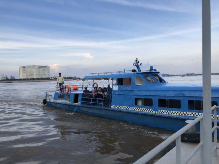 プノンペンで水上タクシーに乗ってみた! 写真とともに詳しくレポート