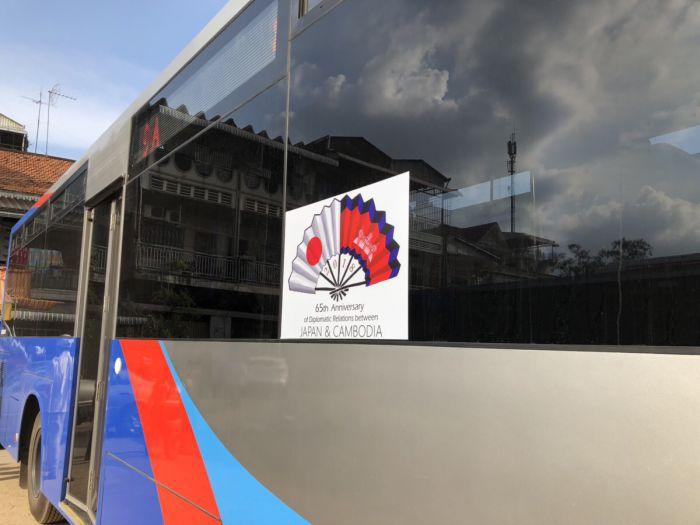プノンペンでバスに乗ってみた!日本からの寄贈バスをレポート!